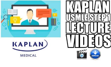 kaplan videos step 1 free download