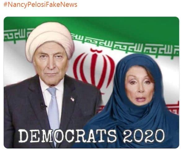 NancyPelosiFakeNews'#