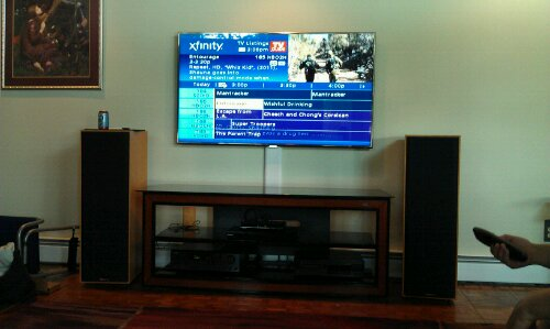 Wethersfield, CT – TV On Wall