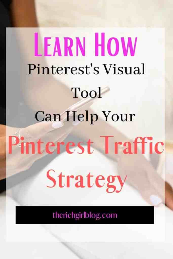 Learn How Pinterest's Visual Tool Can Help Your Traffic Strategy
