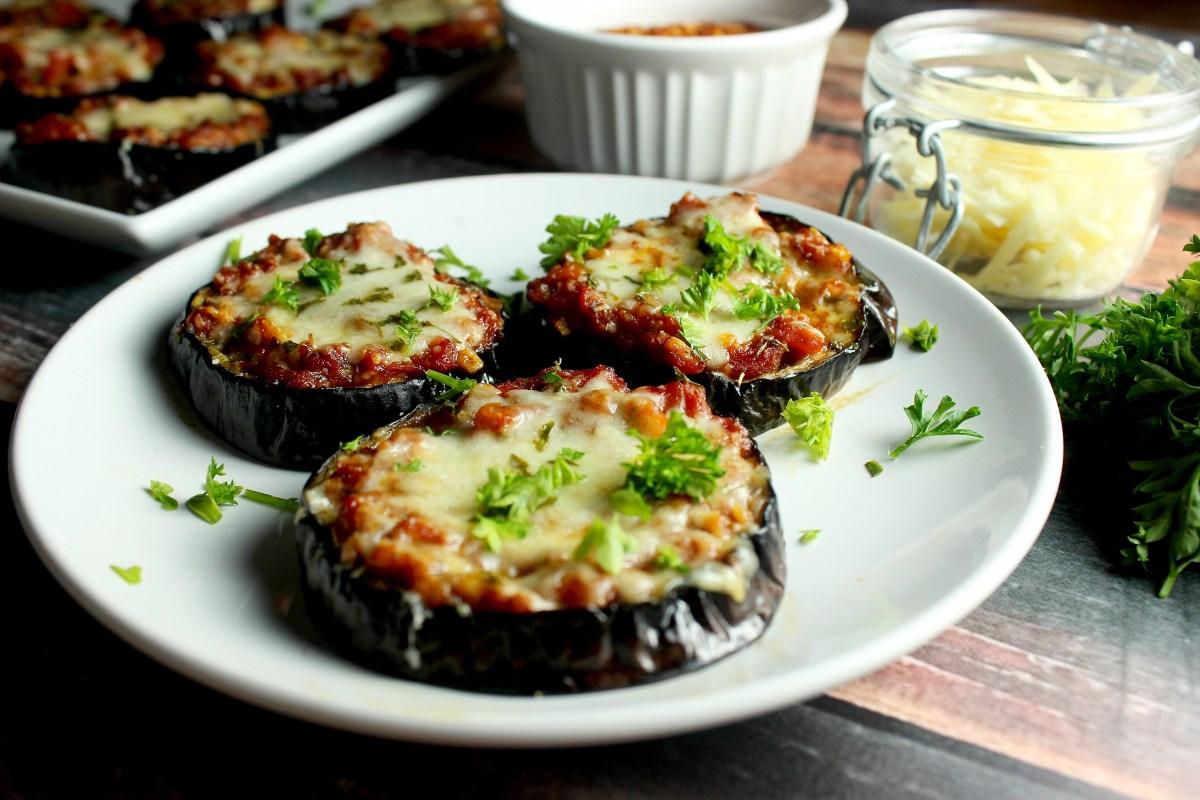 Julia Child's Eggplant Pizza