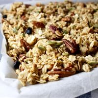 Blueberry Maple Granola