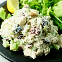 Tarragon Cranberry Chicken Salad