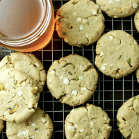 Salted Honey Pistachio Cookies