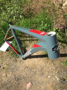 Tapered head tube for front end stiffness, strength and steering precision Was $1250 Now $800