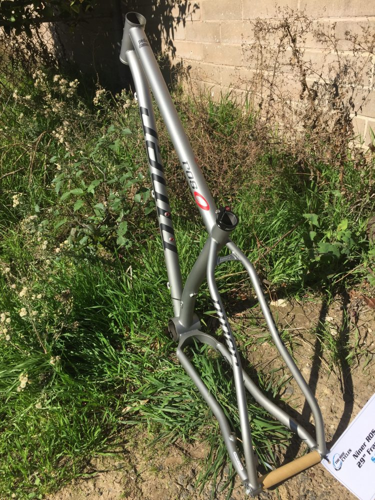 Aggressive geo is slack and low with extra-short chain stays Was $1600 Now $1000