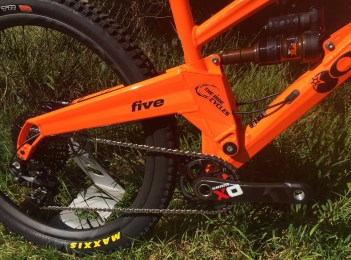 X01 Drivetrain keeps the bike rolling