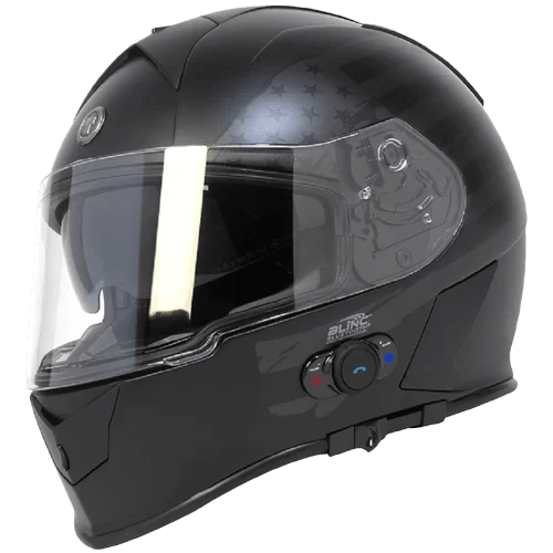 Torc T14B Bluetooth Integrated Mako Full Face Helmet