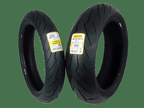 Pirelli Diablo Rosso III Tire Set