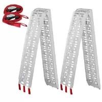 Yaheetech Aluminum Ramp Pair
