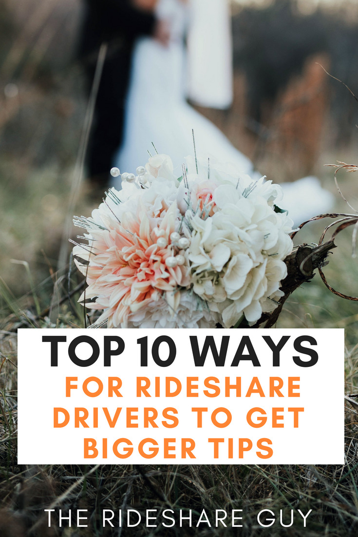 Top 10 Ways for Rideshare Drivers to Get Bigger Tips. One of the best feelings you can have as a rideshare driver is opening up your driver summary and seeing those big tips. A lot of people have their own methods to scoring the big tips but I wanted to share what I do. #ridesharedrivers #rideshare #uber #lyft #tips