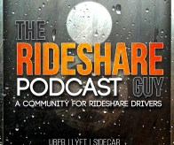 The rideshare guy podcast logo.