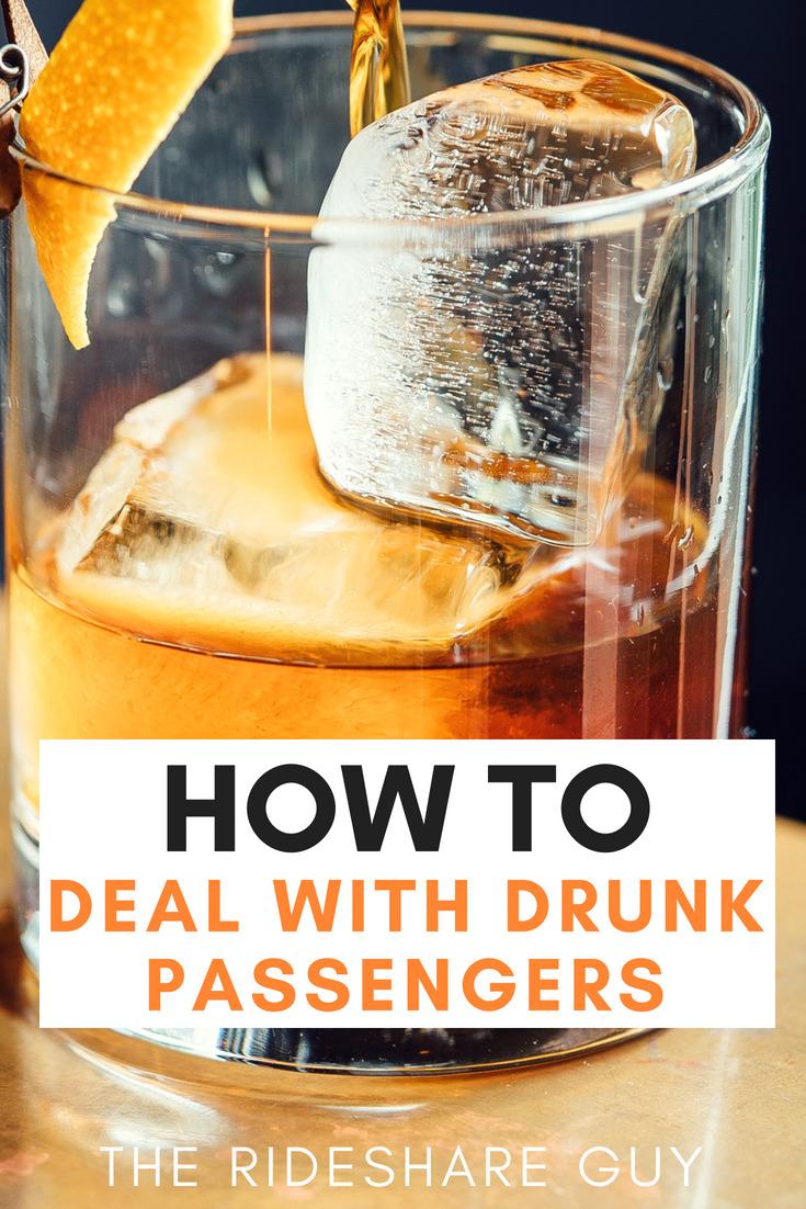 How to Deal With Drunk Passengers. I've only driven past midnight a handful of times but so far my experiences have been great. I made good money and met a lot of interesting people. I'm hoping that the techniques I use to avoid and prepare for vomitters will ensure that no one ever throws up in my car.  #ridesharing #rideshare #uber #lyft