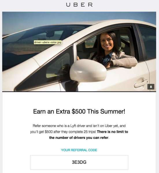Uber $500 Bonus Is Now Available For All Lyft Drivers!