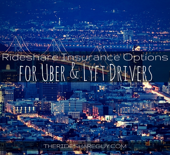 Uber and Lyft Driver Insurance Options
