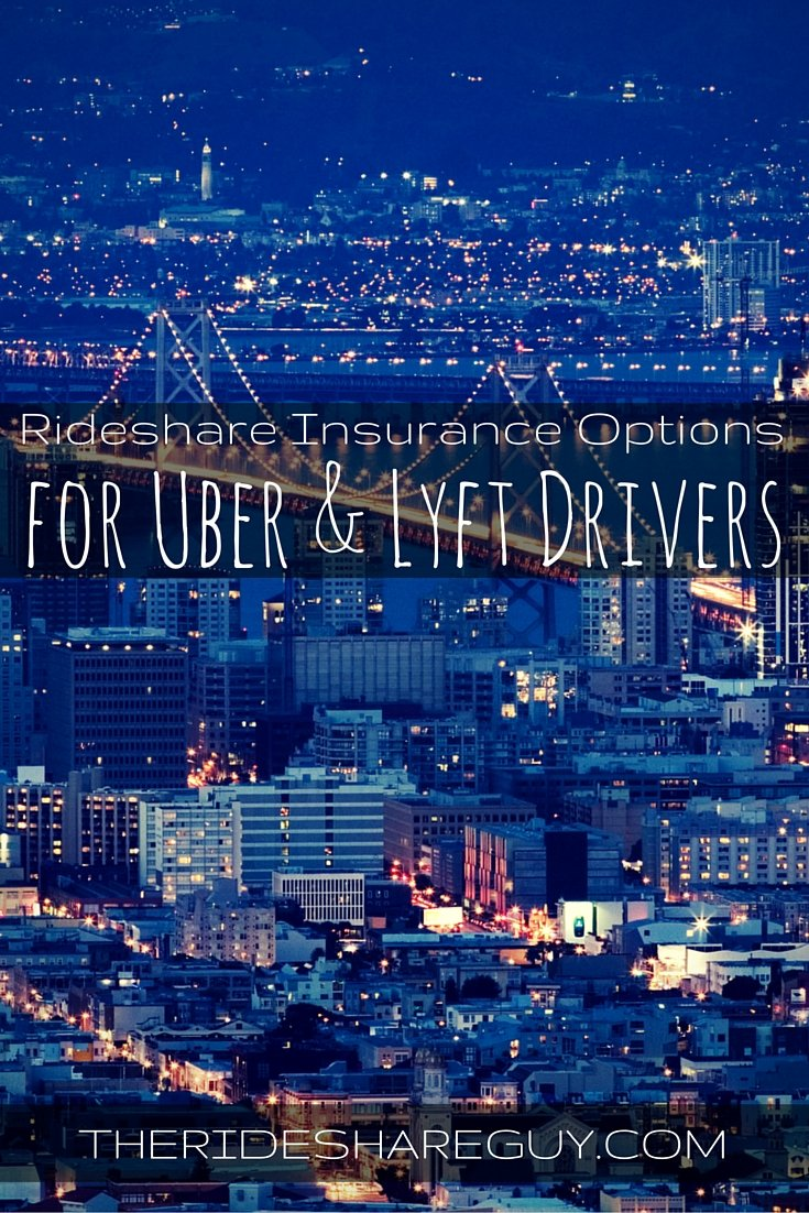 Rideshare Insurance - Best Options for Uber & Lyft (By State)