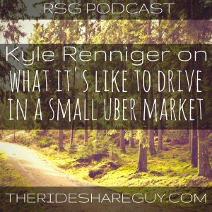 In this episode, we talk to Kyle Renniger of Muncie, Indiana, who talks to us about what it's like to drive in a really small Uber market.