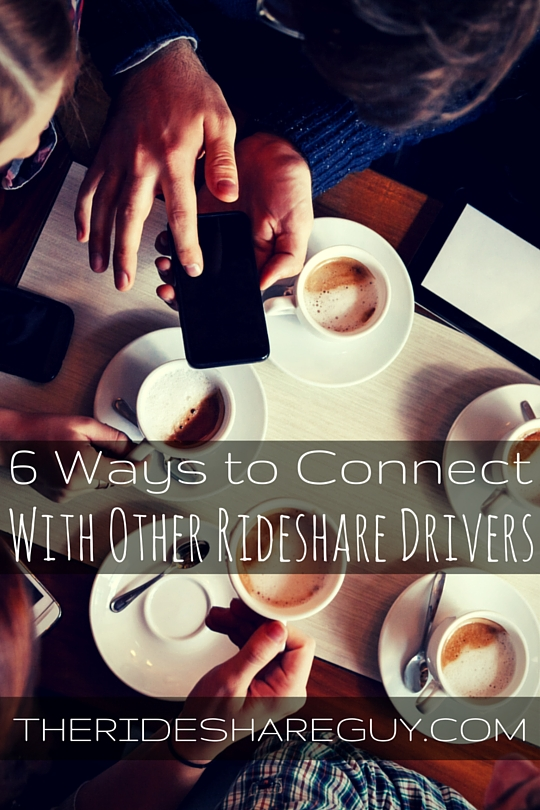 Rideshare driving can be a lonely experience, but it doesn't have to be. Here are 6 tested ways to connect with other drivers!