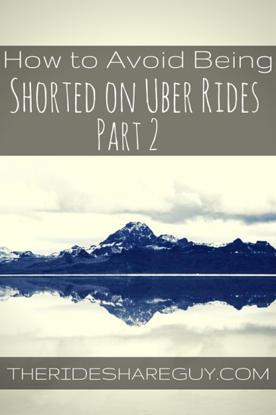 Have you ever not received the full fare you drove on Uber? Here's how to will avoid being shorted and how to get it resolved if it happens to you.