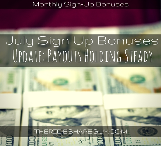 Check out the latest on July sign up bonuses for all the big rideshare and delivery companies, including Lyft, DoorDash & a delivery-service called Caviar.
