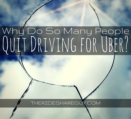 When Do Uber Drivers Get Paid >> Why Do So Many People Quit Driving For Uber?