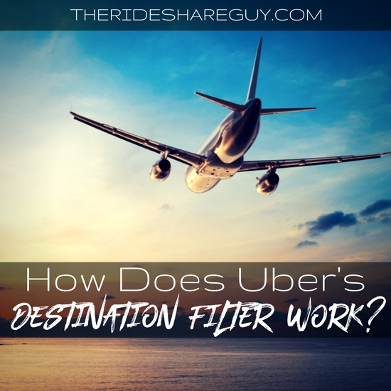 Uber's destination filter is a long awaited addition that might finally work for drivers now! Here's how Uber's destination filter really works.