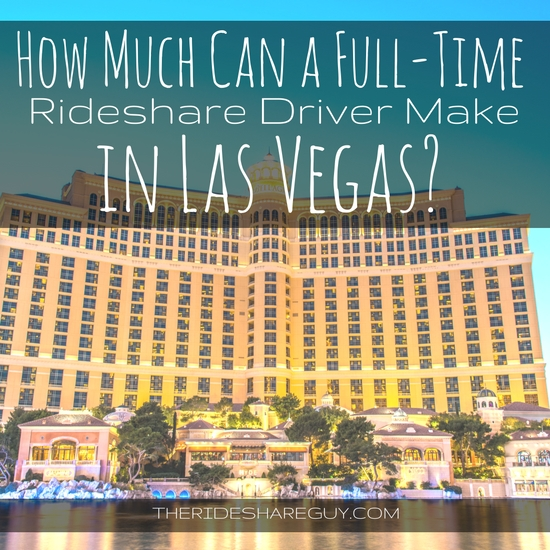 How much can a rideshare driver actually make driving around Las Vegas? The answer may surprise you!
