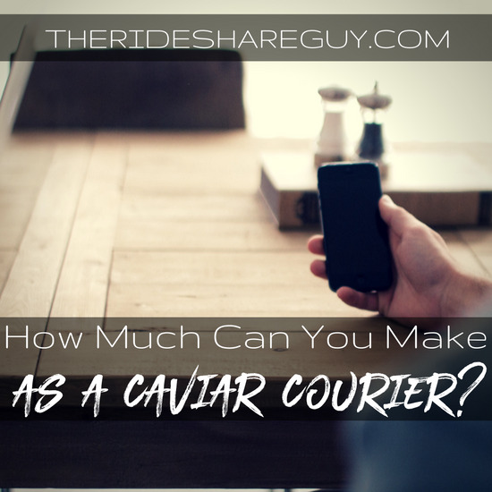 Considering becoming a Caviar courier and wondering how much they make? We did the work for you - and you'll be surprised by how much you can make!