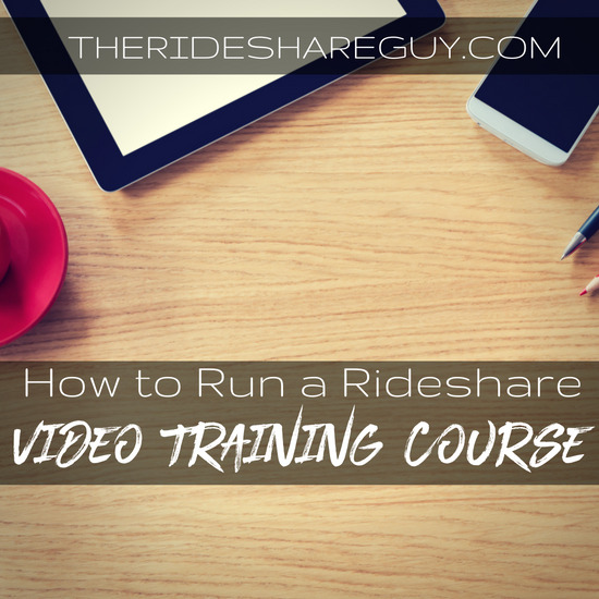 RSG048: How To Run A Rideshare Video Training Course The