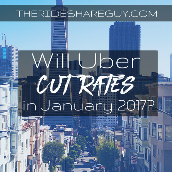Will Uber cut rates in 2017? History says yes, but does Uber's new driver-friendly policy say otherwise?