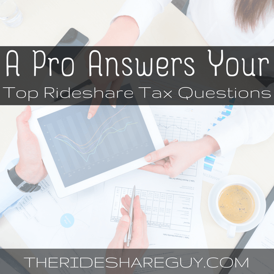 Have questions about your 2016 taxes? You're not the only one! Here's a Q & A with a TurboTax pro who answered many of our rideshare tax questions -