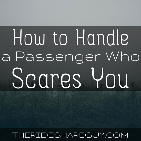 After hundreds of rides, you're bound to encounter a passenger who scares you. But how do you handle that type of pax? The do's and don't's here -