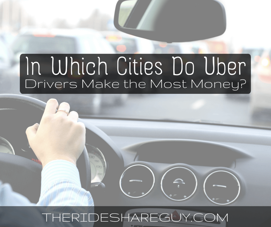 Uber Driver Earnings By City - How Much Does An Uber Driver