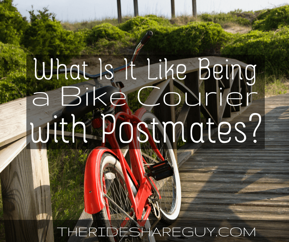 What's It Like Being A Bike Courier With Postmates?