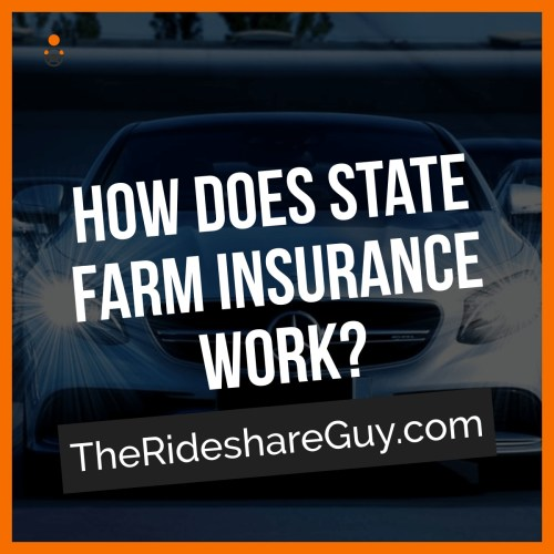 Looking for rideshare insurance but not sure which company to go with? Jon covers what you should know about State Farm rideshare insurance here -