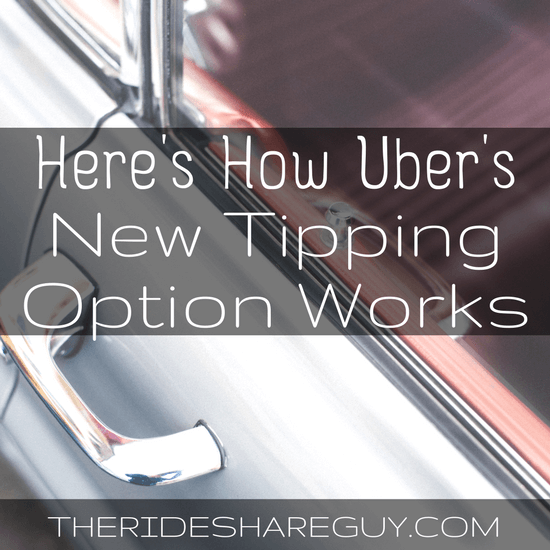 It's official - Uber tipping is here! How to activate tipping, how tipping works on Uber, and an interesting theory on the 'no tip' option -