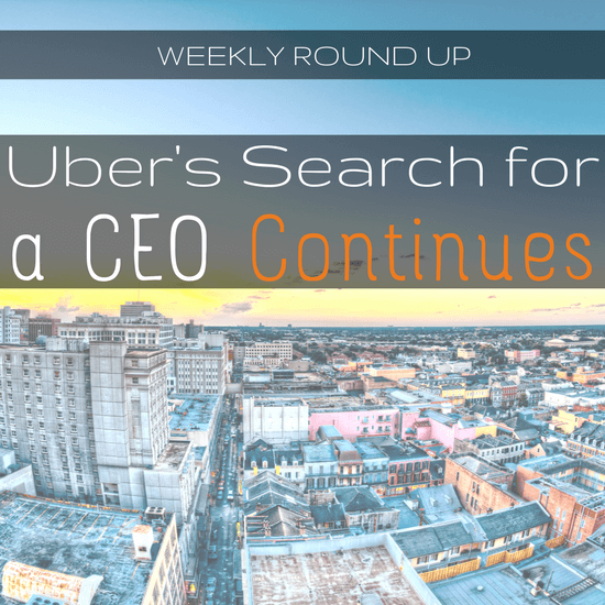 John Incecovers Uber's search to replace former CEO Travis Kalanick, Uber's supposed revenue, and an update on all the lawsuits Uber is facing -