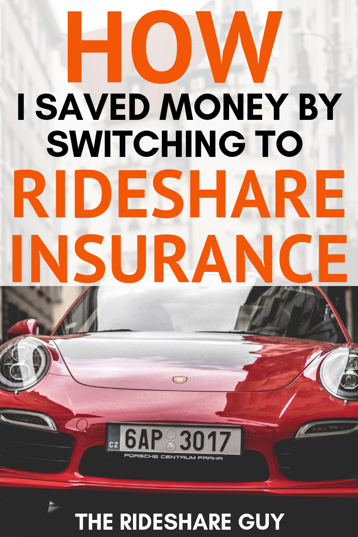 How I Saved Money by Switching to Rideshare Insurance. We outlines how we actually ended up saving money by adding rideshare insurance to our policy. Don't forget to read this one! #insurance #rideshareinsurance