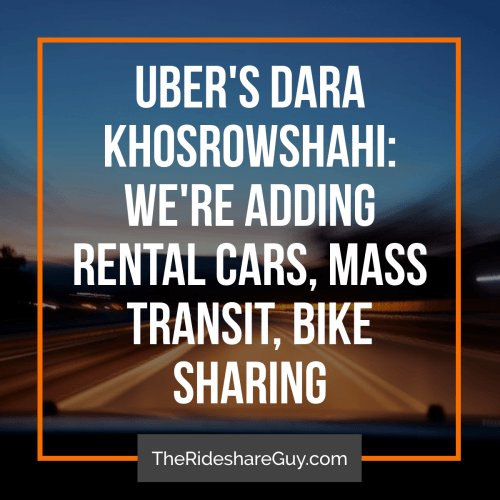 With all of the news about the new Uber driver app and the Uber/driver Q&A, you may be wondering what else is going on in the rideshare/shared mobility world. In this round up, senior RSG contributor John Ince covers Uber's move to mass transit and e-bikes, how Uber (and other companies like it) could combat harassment, and what a typical Lyft driver could expect to make.