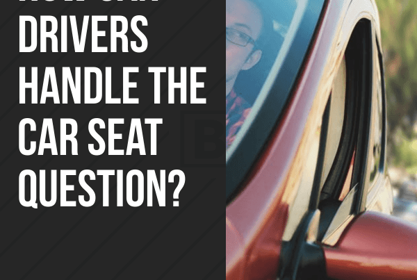 How can drivers handle the car seat questions? #Uber #Lyft