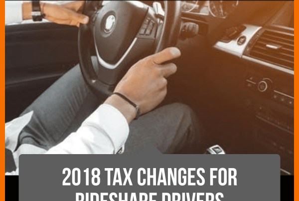 2018 Tax changes for rideshare drivers