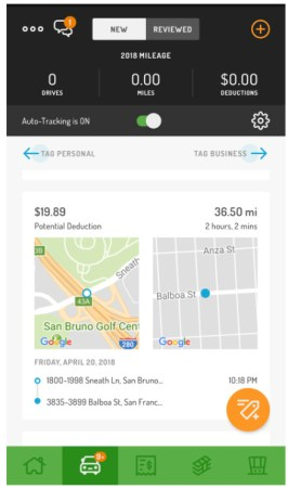 hurdlr app - Mileage Tracker for Business