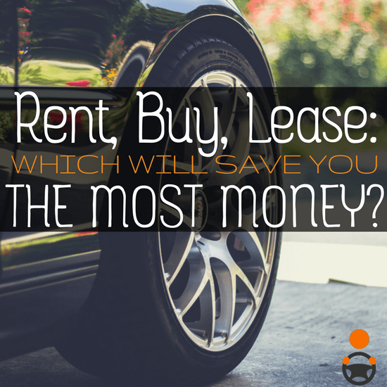 Should you rent or buy a car to drive for Uber, Lyft, etc?