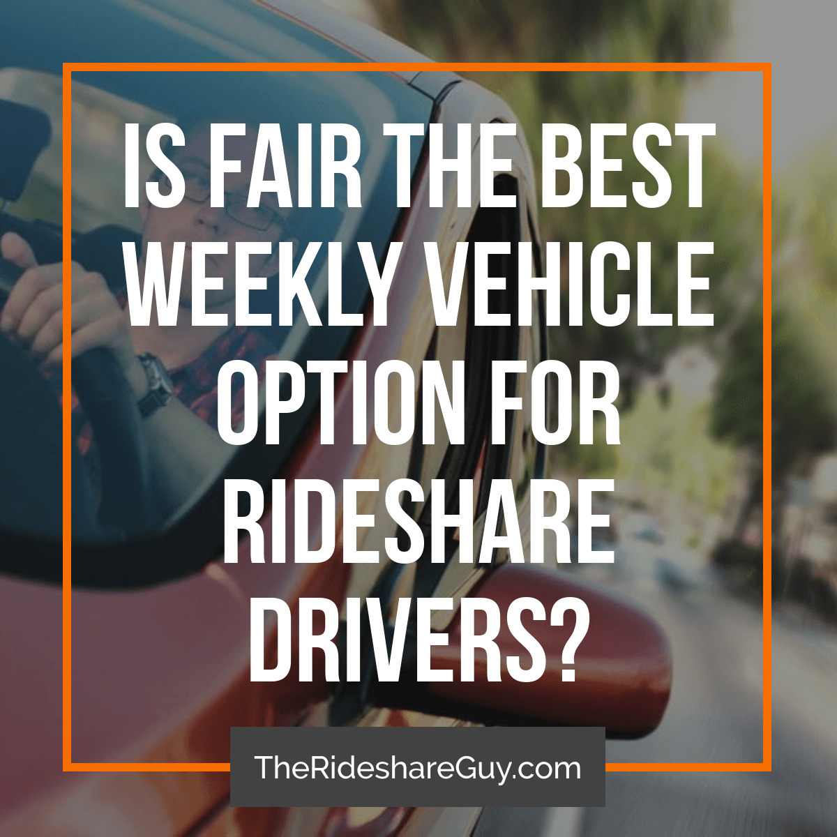 There are a lot of options when it comes to rideshare rentals and leases, but one of the newest options is a company called Fair. We've recently teamed up with Fair to take a look at the offering and highlight what they have for drivers.