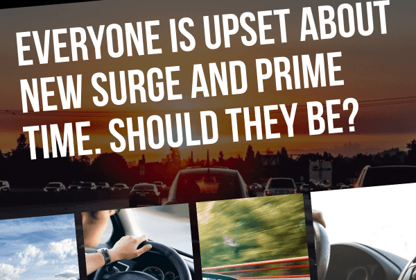 Recently, we featured a guest postfrom the perspective of a Chicago driver affected by Lyft's potential new changes to Prime Time. A lot of of drivers understandably have many questions about Lyft's new Prime Time, plus Uber's changes for new surge. Senior RSG contributor Christian Perea tackles those questions, and how new surge/Prime Time may affect drivers, below.