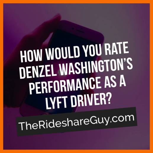 """Have you ever watched a movie, TV show or music video that featured Lyft or Uber logos? Maybe someone was actually """"working"""" as a driver. We wanted to know how realistic these portrayals are and if there are takeaways for drivers, so we had senior RSG contributor Will Preston break down one of the latest movies to prominently feature rideshare driving, the movie The Equalizer 2 starring Denzel Washington."""