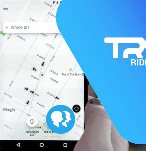 image of Tryp's copy of Uber pax app