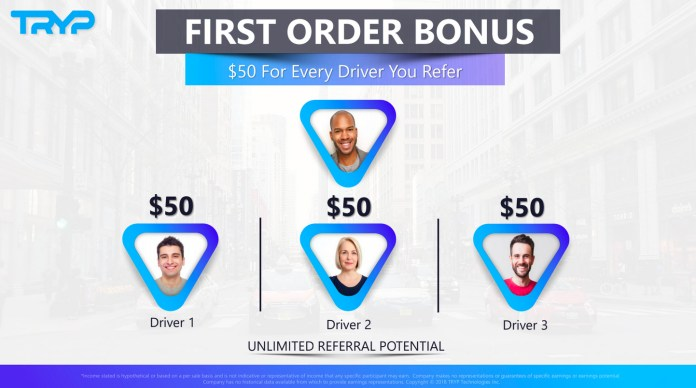 image of Tryp first bonus