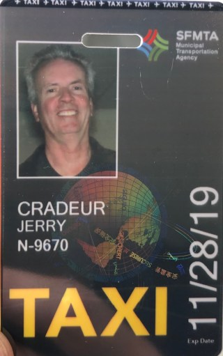 "image of The Official San Francisco Taxi Driver ""A"" Card."