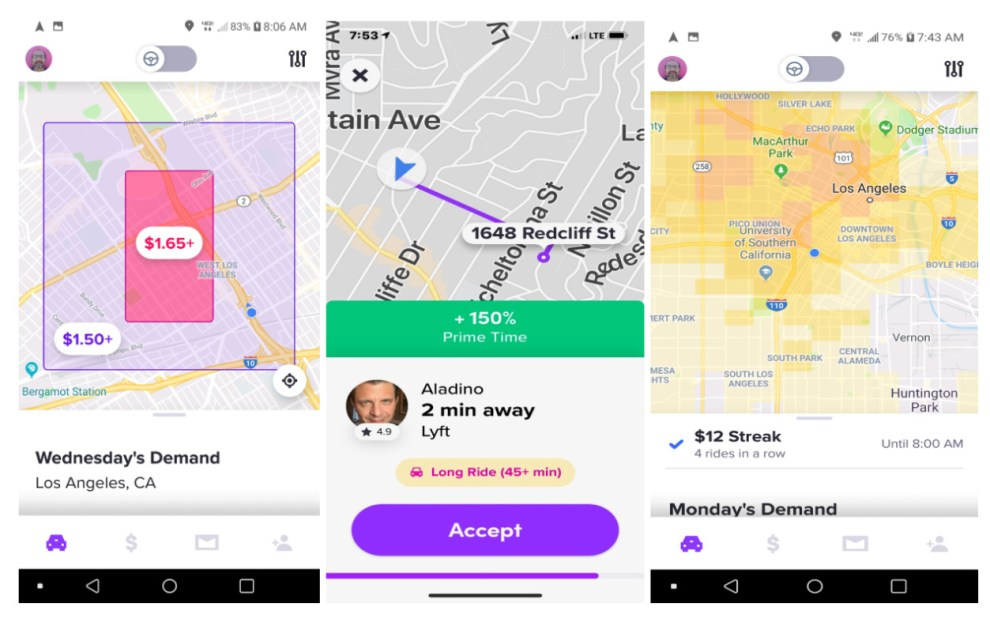 lyft personal power zones